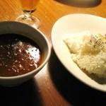 イルカッフェ - ひよこ豆のカレー