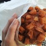パン工房 福十 - 料理写真:カレーパン☆まわりがカリカリでおいしかったー!