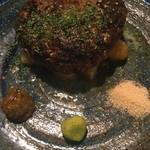 向日葵 - 肉肉しいハンバーグ