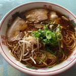徳森食堂 - ラーメン(中)