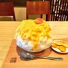 Kakinohasushihirasou - 料理写真:ヨーグルトクリーム柿氷