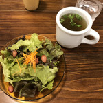 96404331 - サラダとスープ