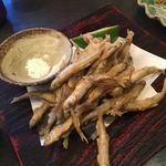 銀の穂 - カサゴの唐揚げ