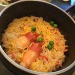 銀の穂 - 蟹釜飯