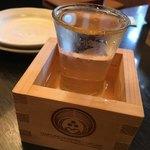 銀の穂 - 昼間から飲む日本酒は最高だね!