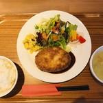 シェフズ キッチン - 週替わりAランチ(仔羊のメンチカツ)