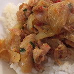 96409936 - 鶏と野菜のレモングラス炒め(週替わりごはん)