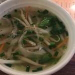 レン - ランチにつくスープ