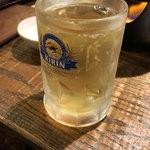 阿蘇白水温泉 瑠璃 - ハイボール 氷なしできました笑