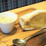 高級芋菓子 しみず - 安納芋のサンドウィッチ&お芋のポタージュスープ