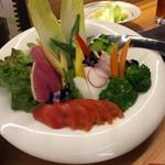 焼とりの八兵衛 - 野菜サラダ