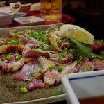 だるま屋 - 博多地鶏のタタキ