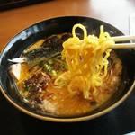 羅妃焚 - 焦がしにんにく味噌の麺