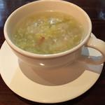 ルール ブルー - 具沢山白菜スープ