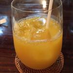 ルール ブルー - オレンジジュース
