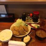 96423668 - カキフライ定食1,350円