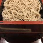 香露庵 - 大盛蕎麦なので3枚!