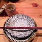 炊き餃子・手羽先 オクムラ - セットされてました。