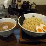 らぁ麺 汁八番 - 濃厚魚介あつもり(大盛)780円