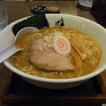 らぁ麺 汁八番 - 魚介豚骨らぁ麺(大盛)700円