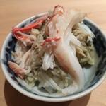 鮨 行天 - 松葉蟹