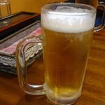 ミヤギディレストラン - 生ビール