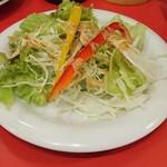 郭 政良 味仙 - セットのサラダ
