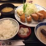 とんかつ かつ喜 - 日替りランチ¥1,026