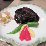 HAMA SYOU - 黒酢酢豚