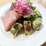 ピッツェリア ラッポルティ - 料理写真:ランチの前菜