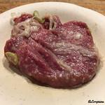 立ち食い焼肉 と文字 - 牛タン