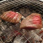 立ち食い焼肉 と文字 - ハラミ