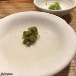 立ち食い焼肉 と文字 - 柚子胡椒と山葵