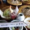 山香荘 - 料理写真:天ざるそば