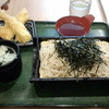 うちそば - 料理写真:えびいか天ざるそば(660円)