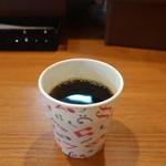 肉バル HATTORI - サービスのコーヒー