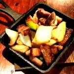 くつろぎ - 栗豚ベーコンと地産野菜のグリル