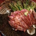 くつろぎ - 【限定】ハーフポンドリブロースステーキ丼1200円