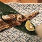 笹吟 - かつおのハラス焼き850円。ポーション自体が小さい。。。味は普通に美味しかったです