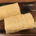 笹吟 - 出し巻き玉子850円。注文すると厨房から玉子を割る音とかき混ぜる音が、カウンターに届いてきました。ふっくら、ジューシー、調味料控えめ出汁たっぷりの味付けで、とても美味しくいただきました(╹◡╹)
