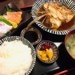 いざけ屋ひなた - ひなた屋定食 ¥750- ライス大盛り ¥820-