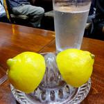 Yakitoriobako - 酎ハイ330円 レモン210円