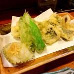 さつま富士 - 鱧の天ぷら