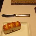 ルセット - 自家製ミニ食パンとバター