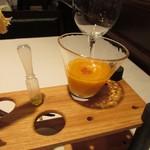 ルセット - ガスパッチョと一番搾りのエクストラヴァージンオイル
