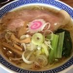 サバ6製麺所 - サバ塩そば
