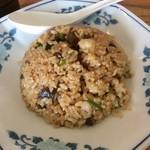 サバ6製麺所 - 半チャーハン