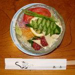 魚庄別館 - 「野菜サラダ」