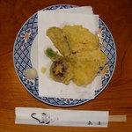 魚庄別館 - 「鯰の天ぷら」