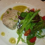 agata - お肉とフォアグラのテリーヌ